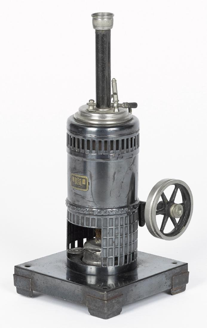 Marklin vertical boiler single cylinder steam engine