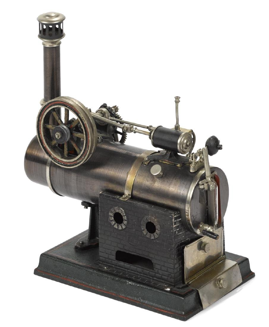 Falk overtype single cylinder steam engine with a