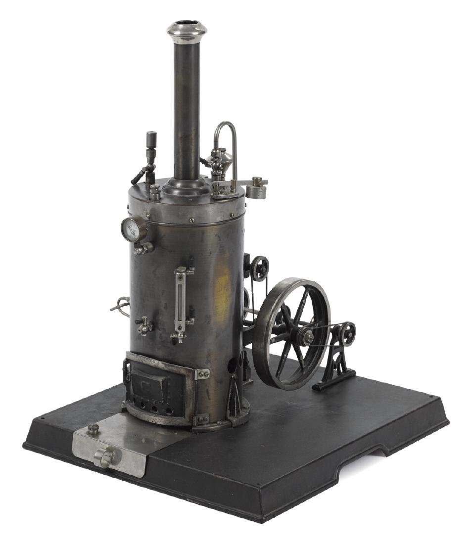 Marklin steam plant with a single cylinder vertical