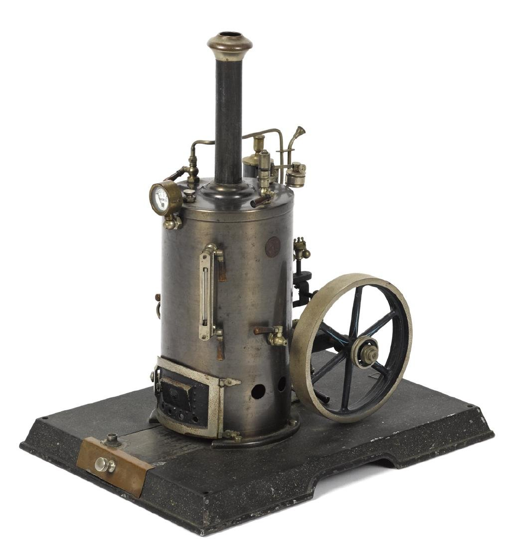 Marklin steam plant with a side mounted single cylinder