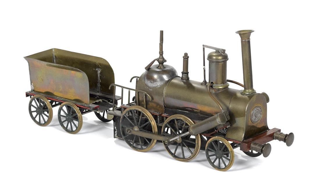 Ernst Plank English dockyard style 2-4-0 locomotive