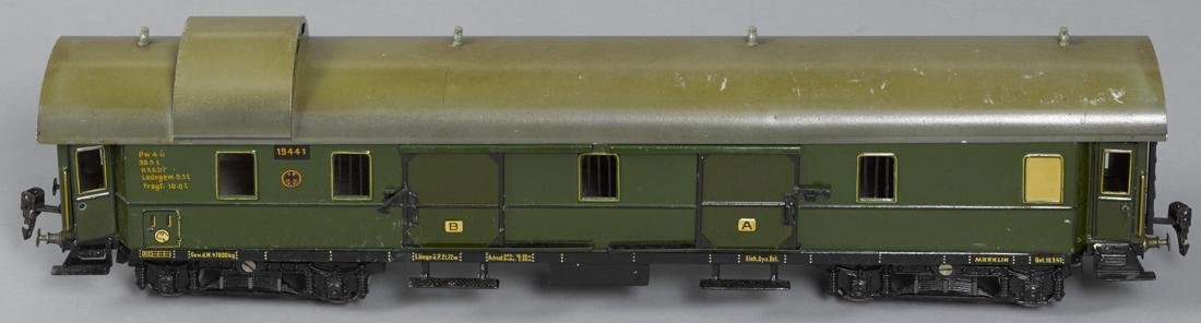 Marklin Gauge I baggage train car, 57 cm, no. 19441