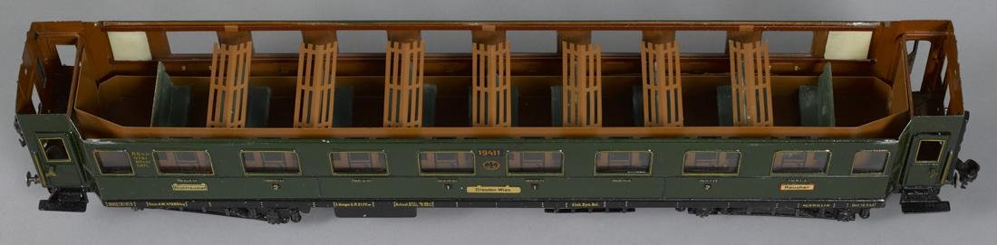 Marklin Gauge I smoking train car, 57 cm, no. 19411 - 2