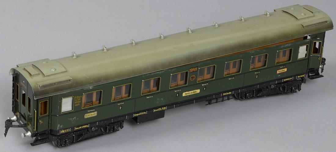 Marklin Gauge I smoking train car, 57 cm, no. 19411