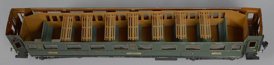 Marklin Gauge I smoking train car, 57 cm, no. 19411 - 2