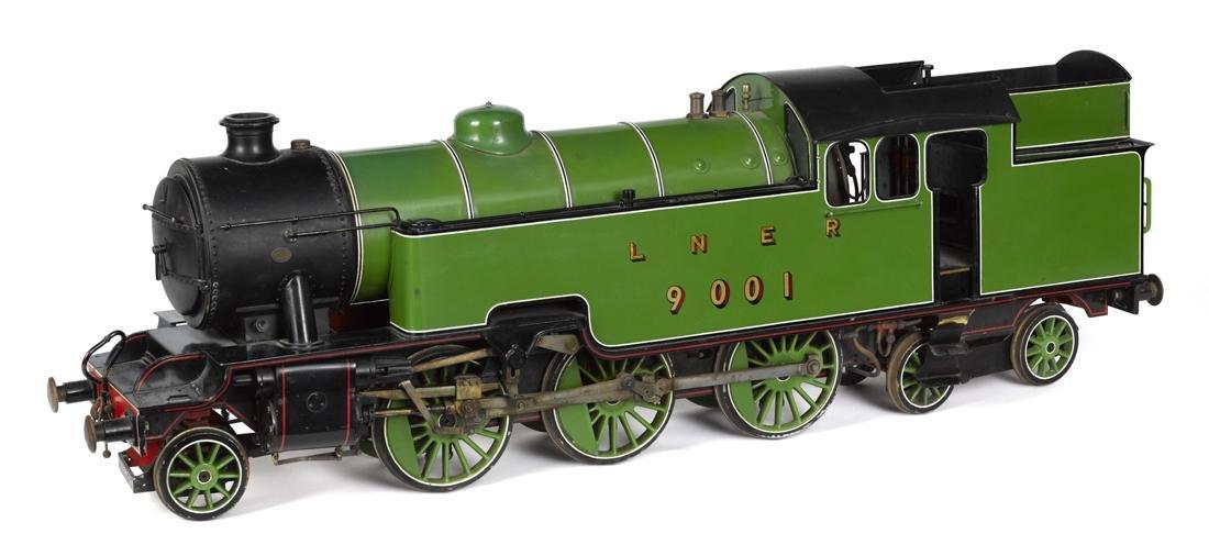 Massive live steam London and North Eastern Railway