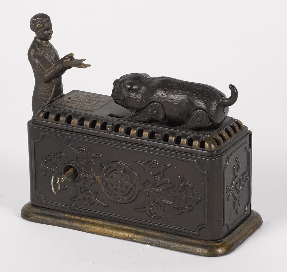 Ives, Blakeslee & Co. cast iron Bulldog Savings - 2