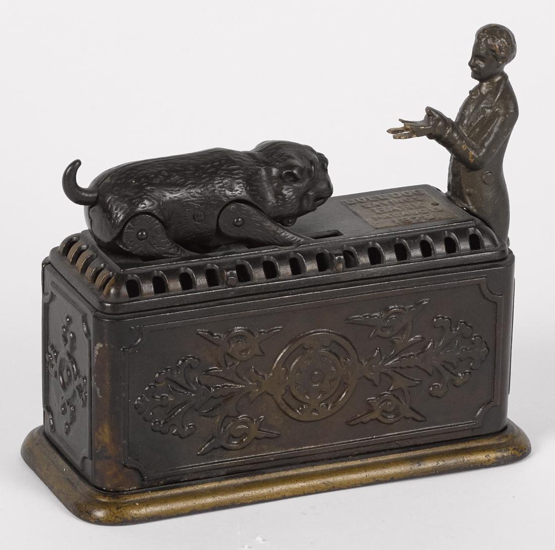 Ives, Blakeslee & Co. cast iron Bulldog Savings - 3
