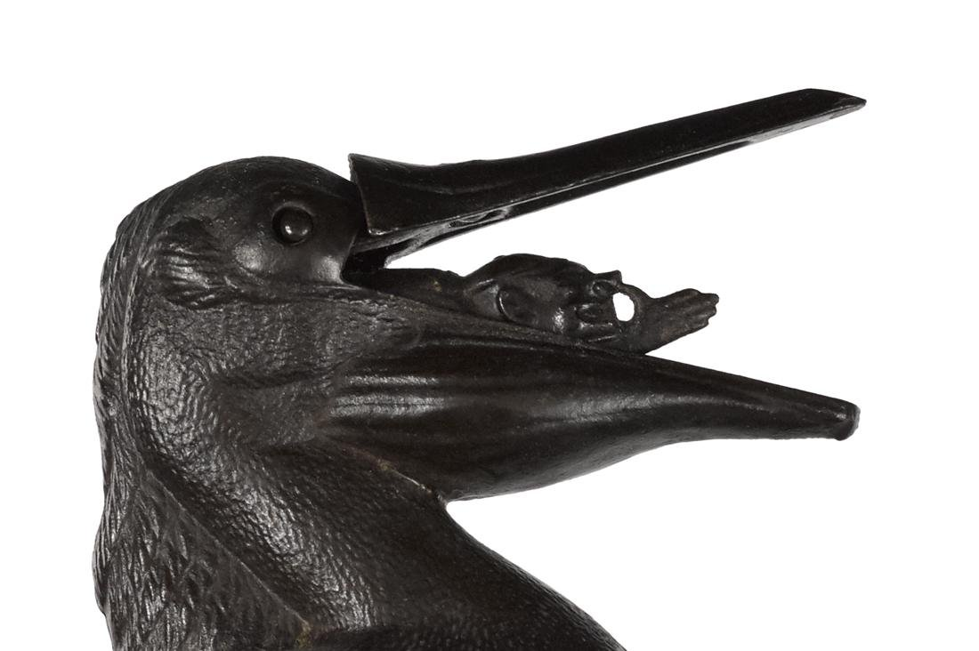 Trenton Lock & Hardware Co. cast iron Pelican-Man - 2