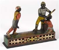 J. & E. Stevens cast iron Darktown Battery mechanical