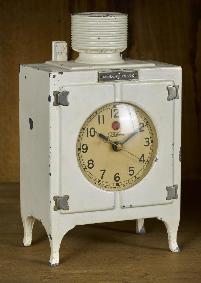 Warren Telechron Co. novelty General Electric ice box