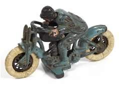 Hubley cast iron Harley Davidson hillclimber