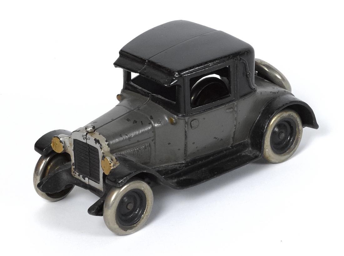 Arcade cast iron Chevy coupe, 8 1/4'' l.