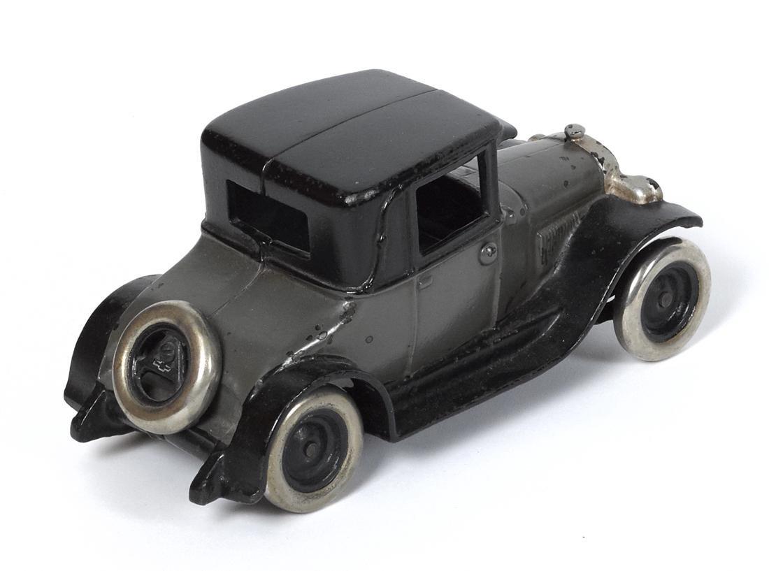 Arcade cast iron Chevy coupe, 8 1/4'' l. - 2