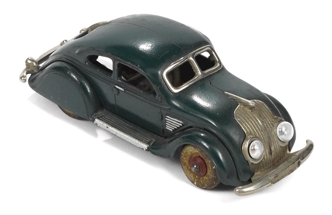 Hubley cast iron Chrysler Airflow coupe with