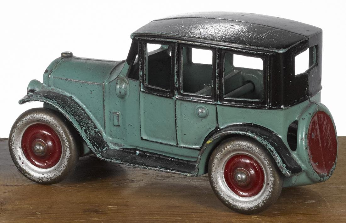 Kenton cast iron sedan with an integral spare, 6 1/4'' - 2