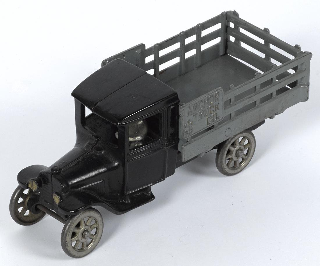 North & Judd cast iron Anchor Truck Co. delivery truck