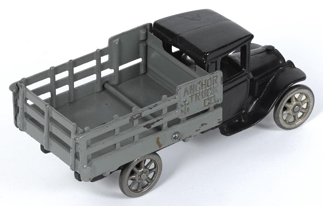 North & Judd cast iron Anchor Truck Co. delivery truck - 2