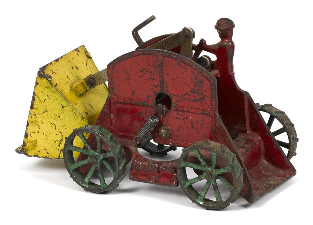 Arcade cast iron Sand Loader tractor, 8 1/2'' l. - 2