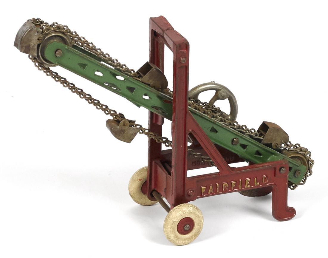 Kenton cast iron Fairfield loader, 6 3/4'' h.