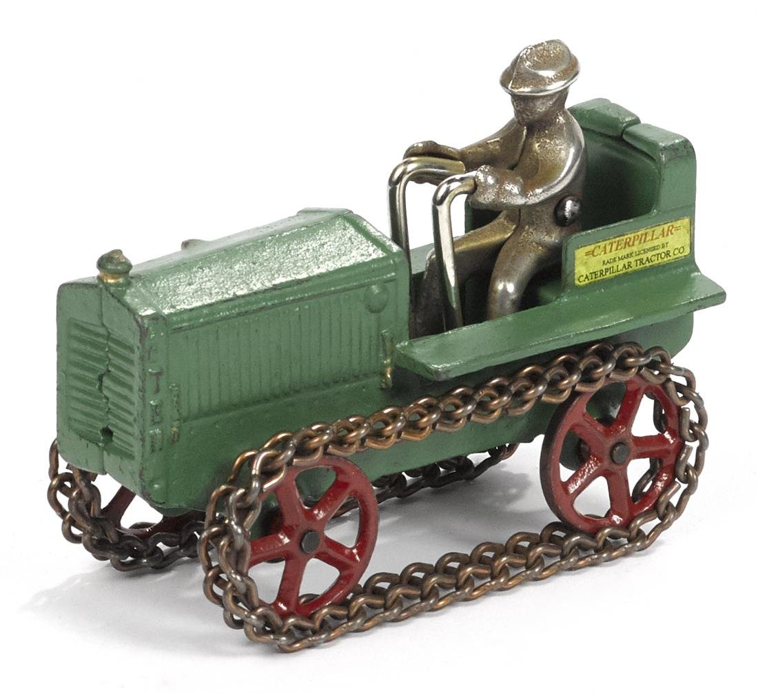 Arcade cast iron Caterpillar 10 tractor