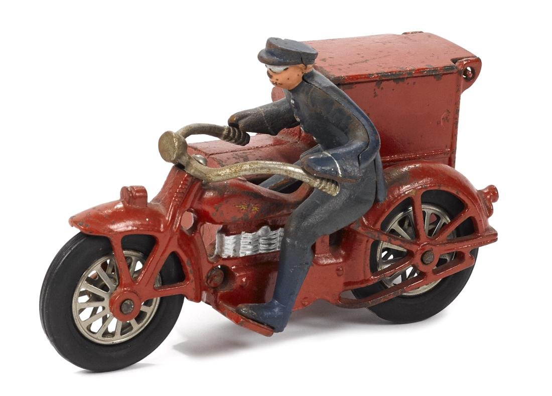 Vindex cast iron PDQ delivery motorcycle with Henderson