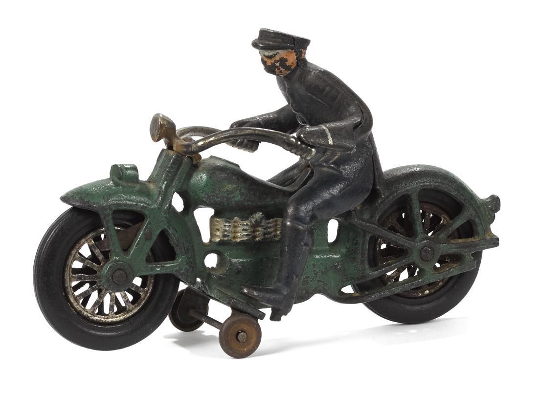 Vindex cast iron Henderson motorcycle, 8 1/4'' l.
