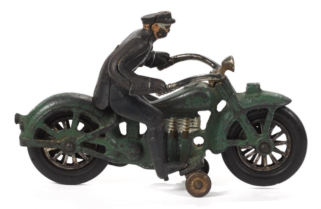 Vindex cast iron Henderson motorcycle, 8 1/4'' l. - 2