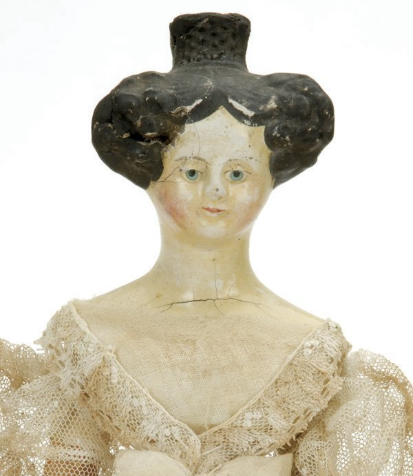 7: Milliner Model with Apollo Knot Hair Style