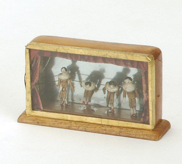 11: Encased Peg Wooden  Miniature Theater