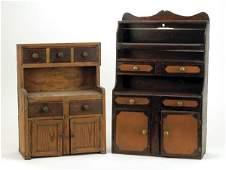 549 Child Size Stepback Cupboards