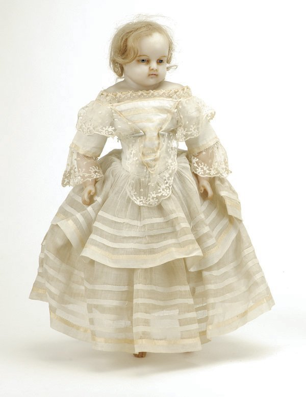 634: Montanari -Type  Poured Wax Child