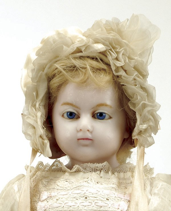 644: Charles Marsh English Poured Wax Young Child