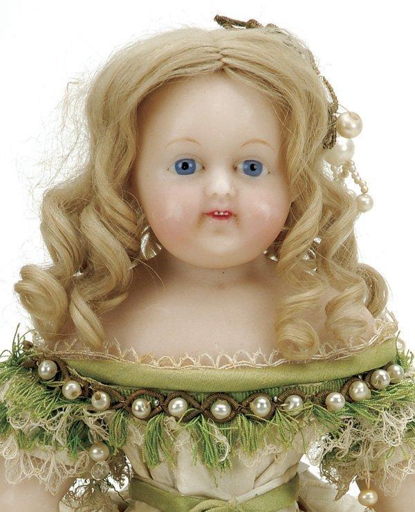 649: All Original German Wax Child