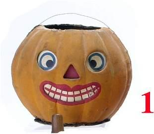 Lipstick Mouth Jack-O'-Lantern