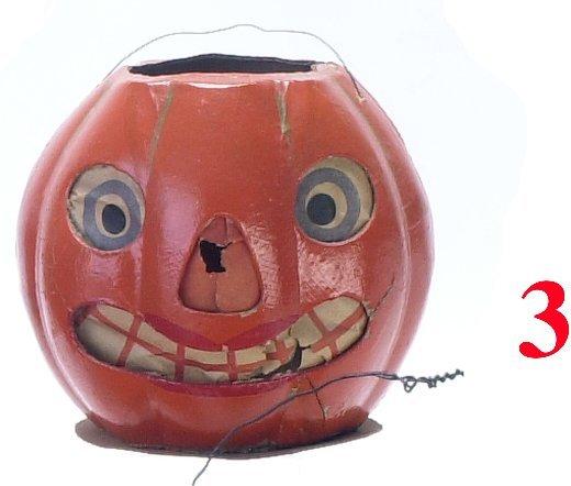 3: Jack-O'-Lantern, glazed