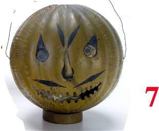 Tin Jack-O'-Lantern