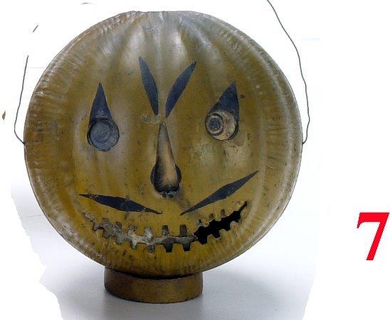 7: Tin Jack-O'-Lantern