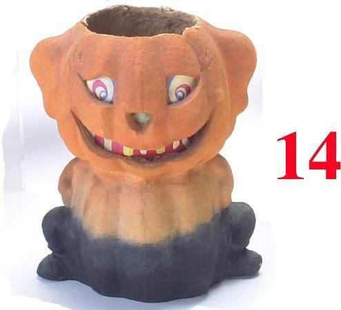 14: Jack-O'-Lantern on Cat body