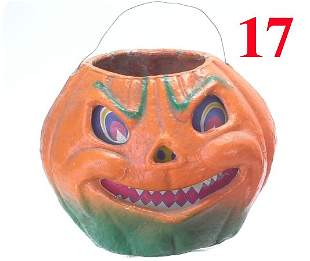 Large Jack-O'-Lantern, open nose