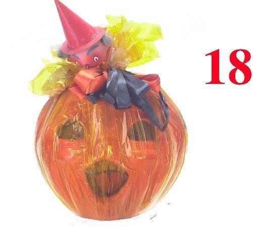 18: Large Jack-O'-Lantern in original wrappin