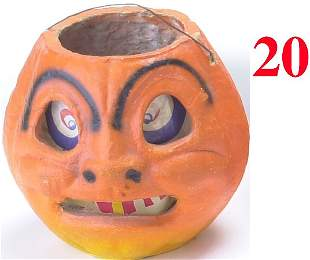 Jack-O'-Lantern with Arched eyebrows