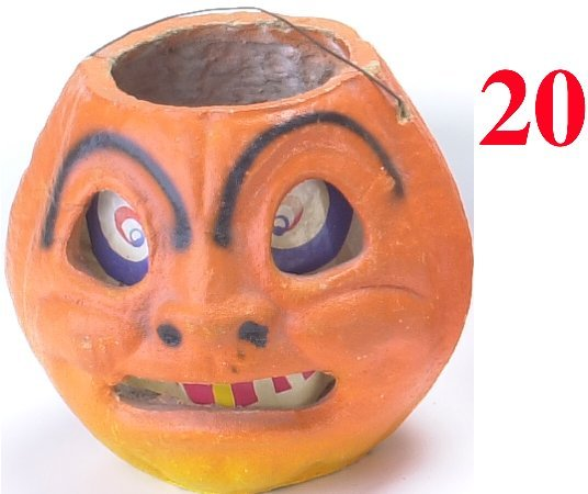 20: Jack-O'-Lantern with Arched eyebrows