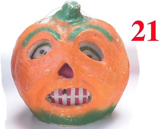 21: Jack-O'-Lantern with Stem