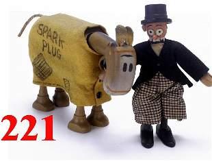 Schoenhut Barney Google & Sparkplug