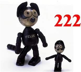 Lot: 2 Schoenhut Felix Dolls