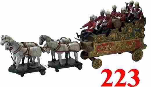 223: Schoenhut Humpty Dumpty Circus Bandwagon