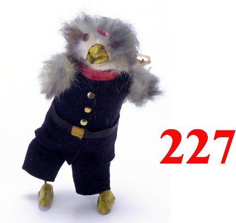 227: Walking Rooster Clockwork Toy