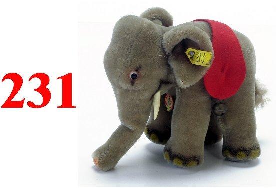 231: Steiff Elephant