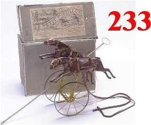 "French Horse Toy - ""Le Petit Postillion"""